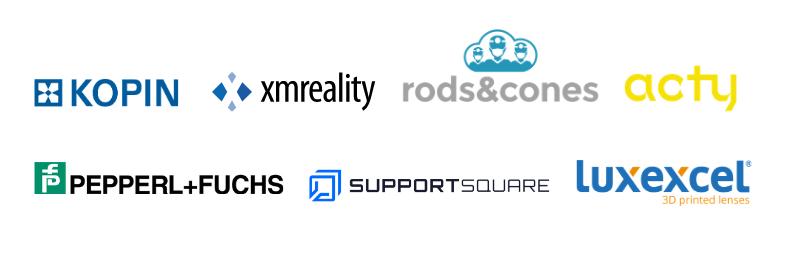 Iristick partnerships in 2020