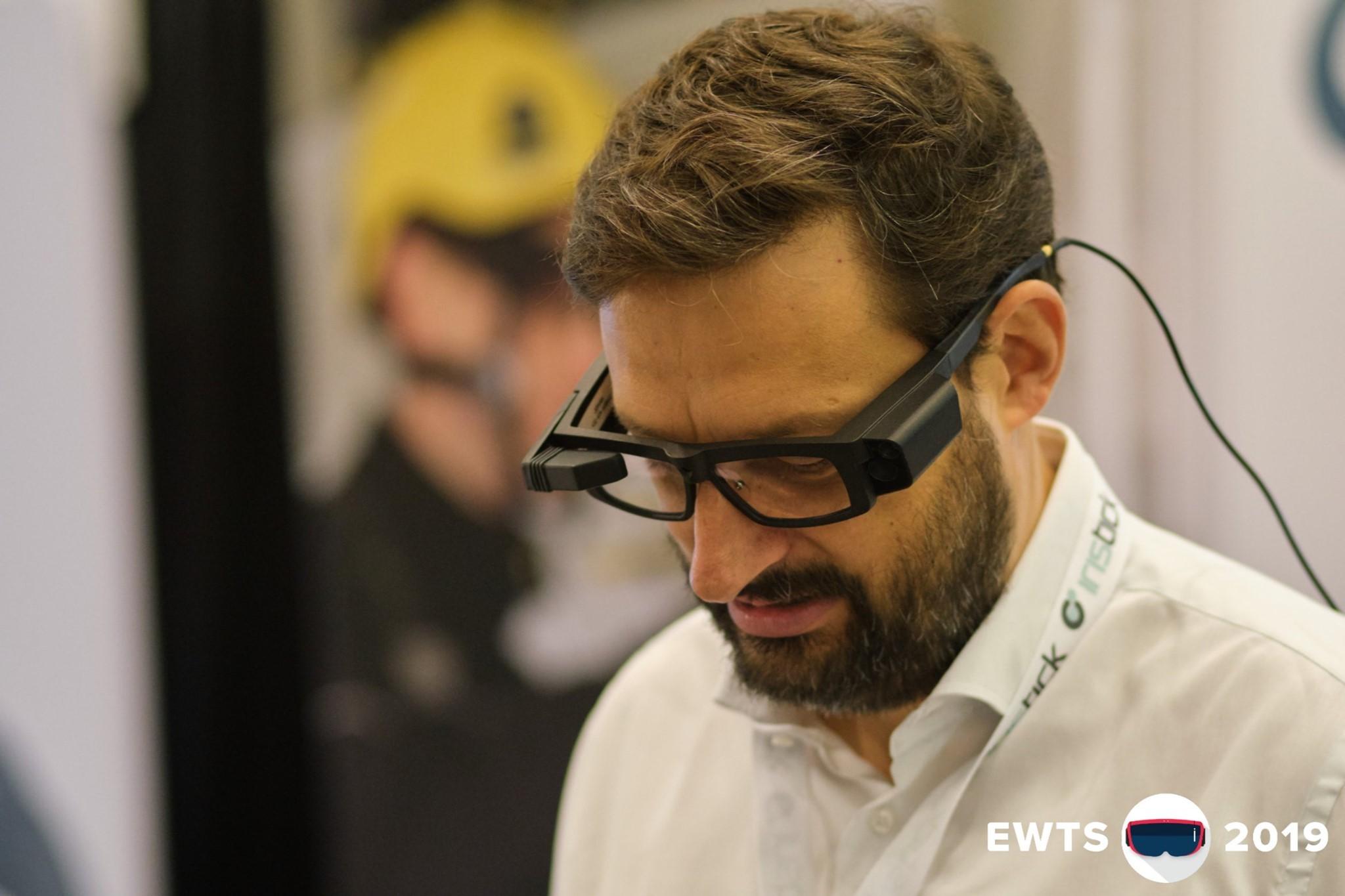 CEO Johan De Geyter on our EWTS2019 booth
