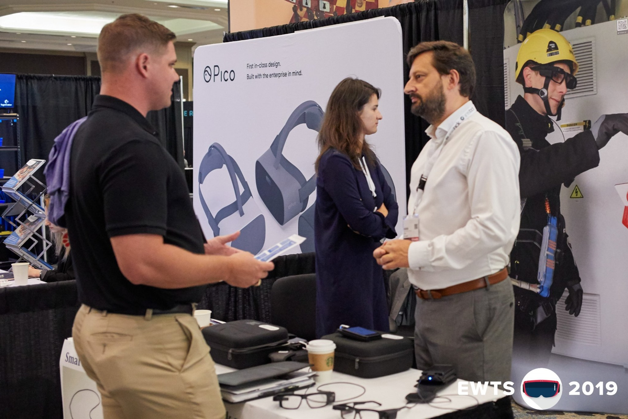 Iristick was a proud exhibitor of EWTS2019