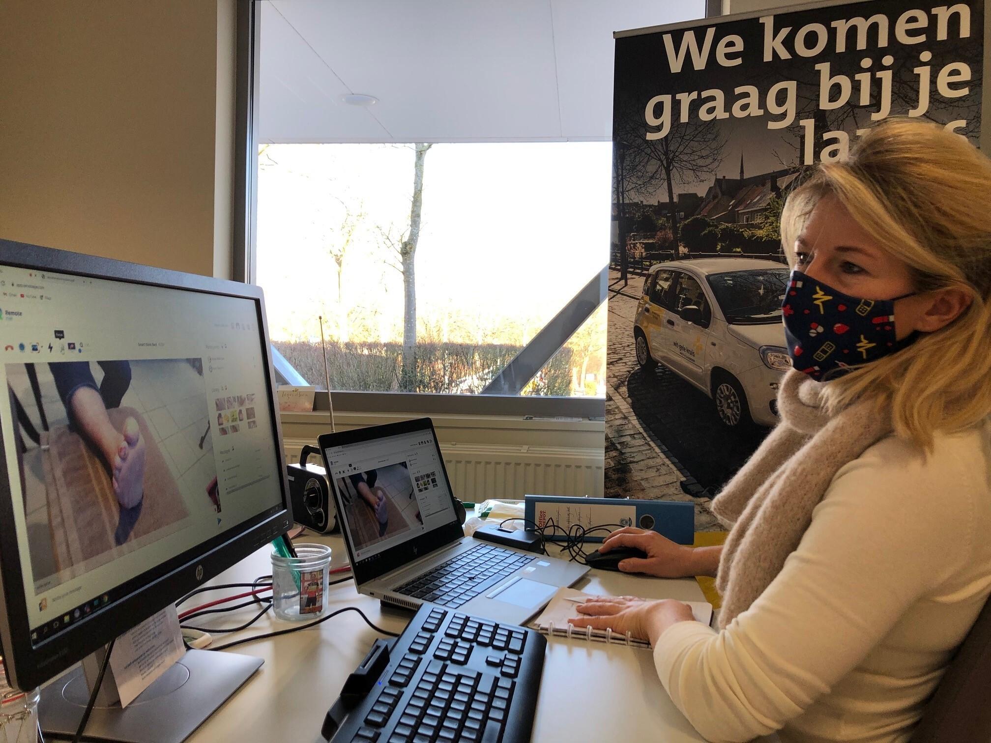 Remote assistance Wit Gele Kruis