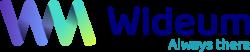 Logo WIDEUM horizontal tag Line
