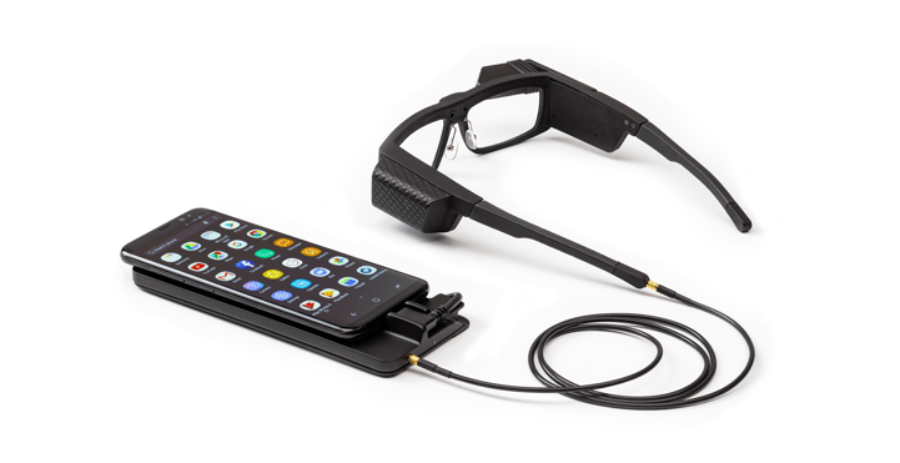 Smart glasses with phone