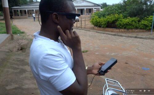 Card image: Aziz benin smart glasses