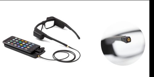 Card image: Iristick phone tethered smart glasses