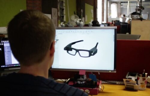 Card image: Design process of Smart glasses