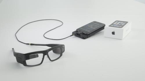 Card image: Iristick iOS smart glasses