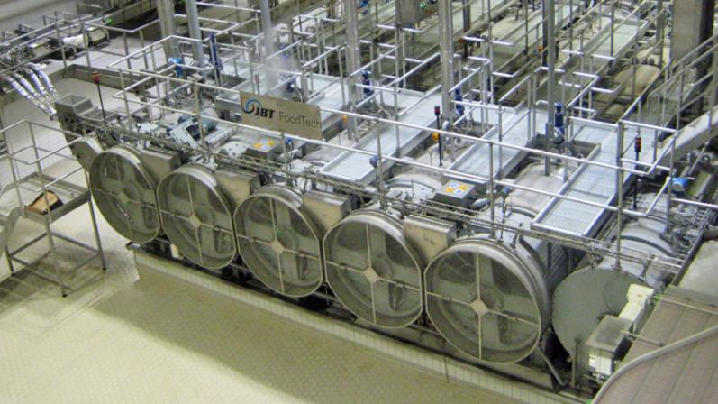 JBT rotary pressure sterilizer