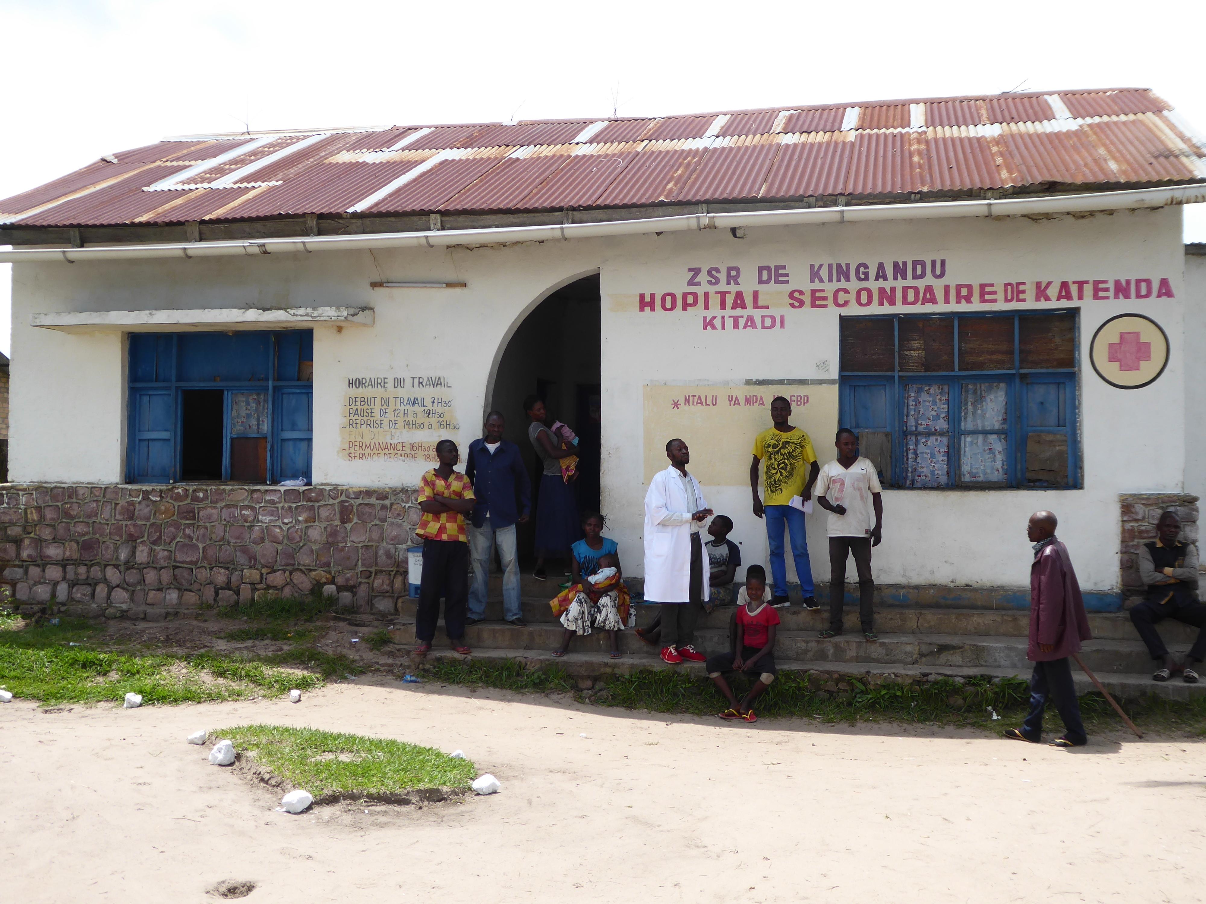 Kigandu health center in DR Congo